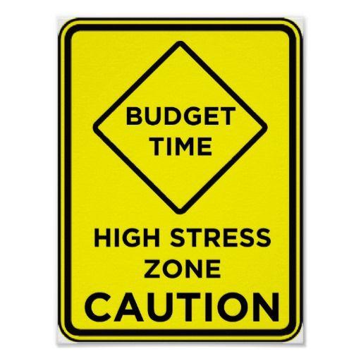Budget stress